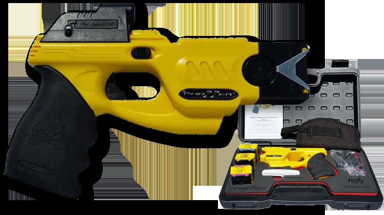 Enforcer Yellow Side Shot Cam Cart