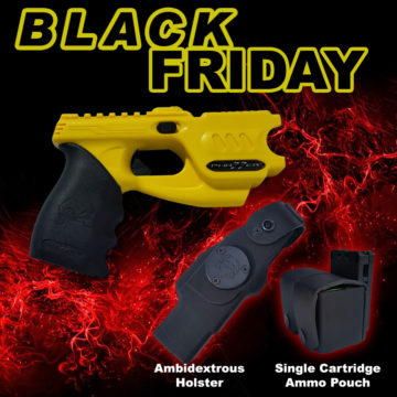 Refurb Yellow Ambi Holster Double Ammo Pouch