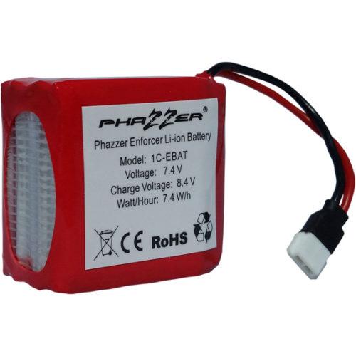 PhaZZer Enforcer Red Label Rechargable Battery 1C-EBAT